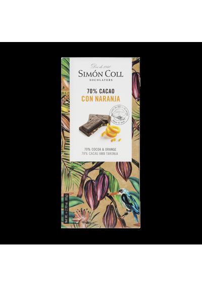CHOCOLATE SIMON NARANJA