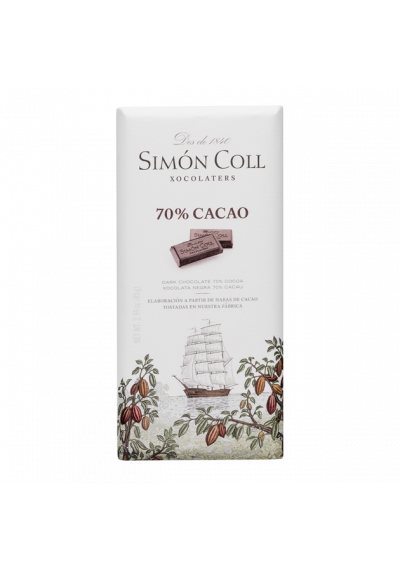 CHOCOLATE SIMON 70 % CACAO