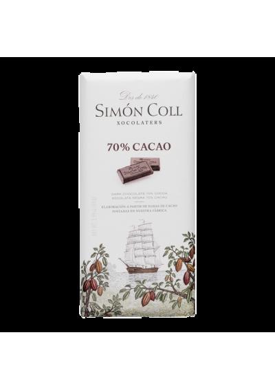 XOCOLATA SIMON 70 % CACAU