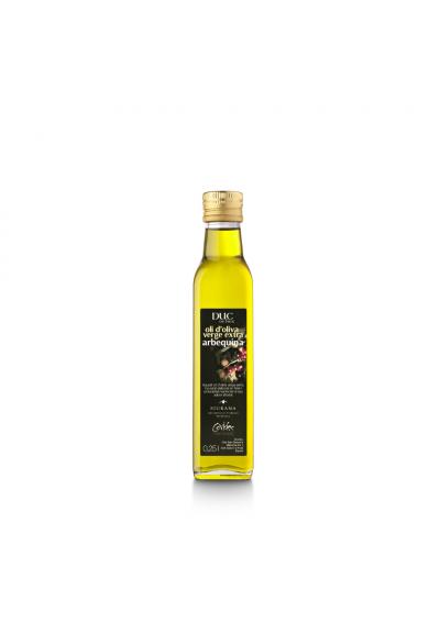 OLI D'OLIVA ARBEQUINA DUC DE FOIX - ampolla vidre 1/4 L.