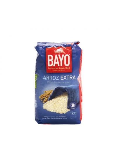 ARROZ BAYO EXTRA 1 KG.