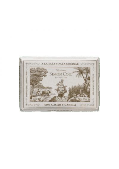 CHOCOLATE A LA PIEDRA SIMON Cacao y Canela