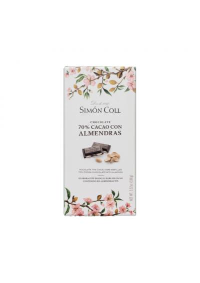 CHOCOLATE SIMON ALMENDRA Y CACAO