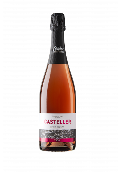 CAVA CASTELLER BRUT ROSADO (botella)